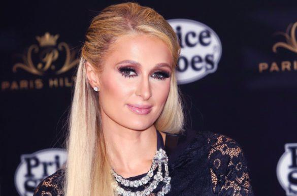 Paris Hilton enceinte